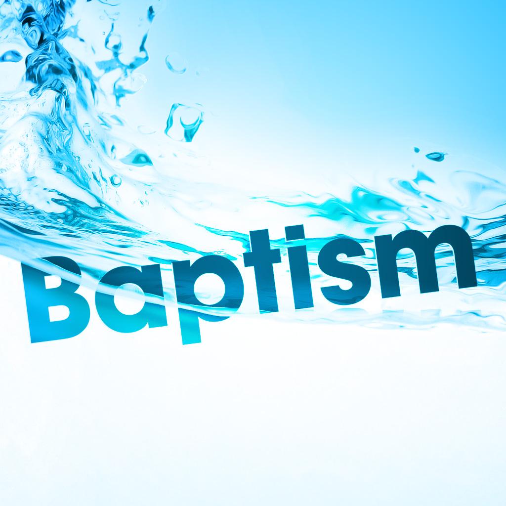 Water baptism  app square
