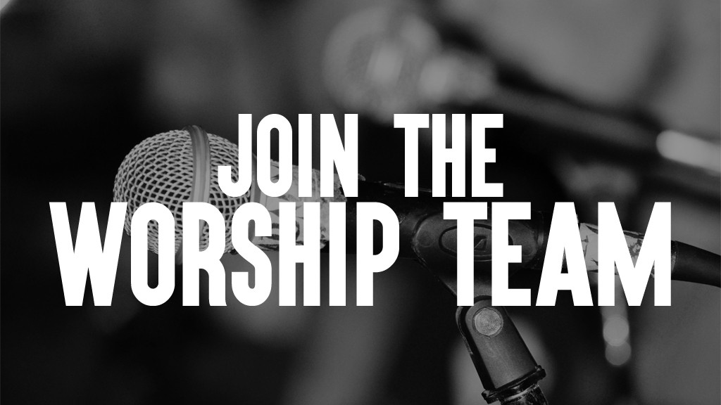 Web worship team auditions