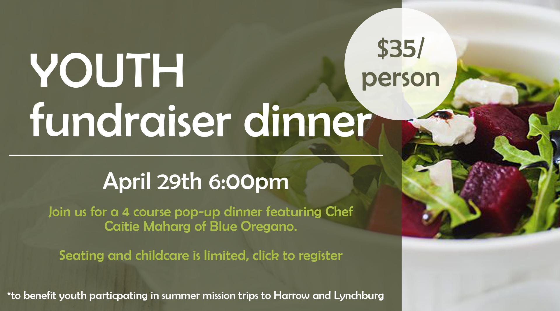 Fundraiser dinner click