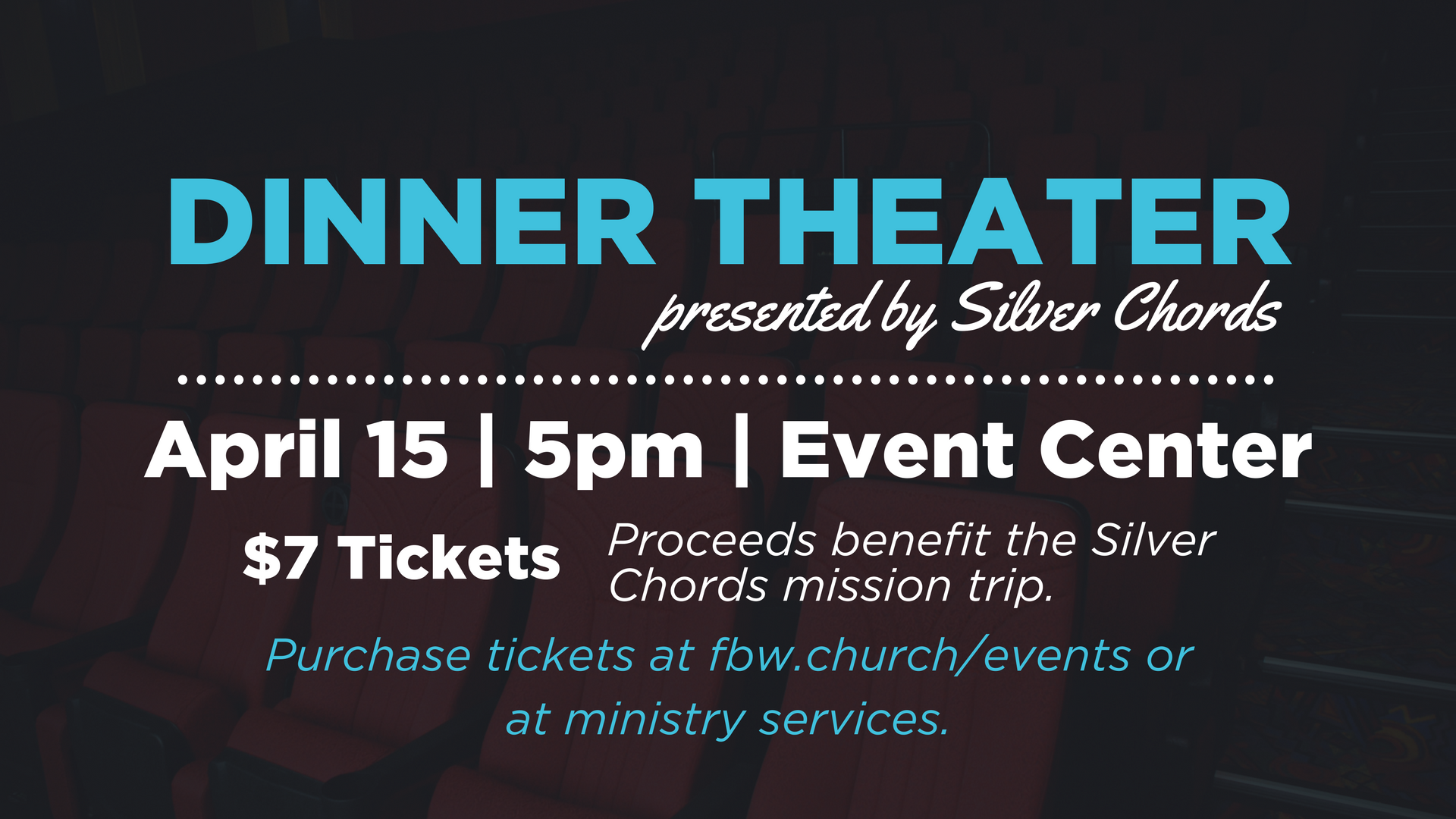 Silver chords dinner theater updated