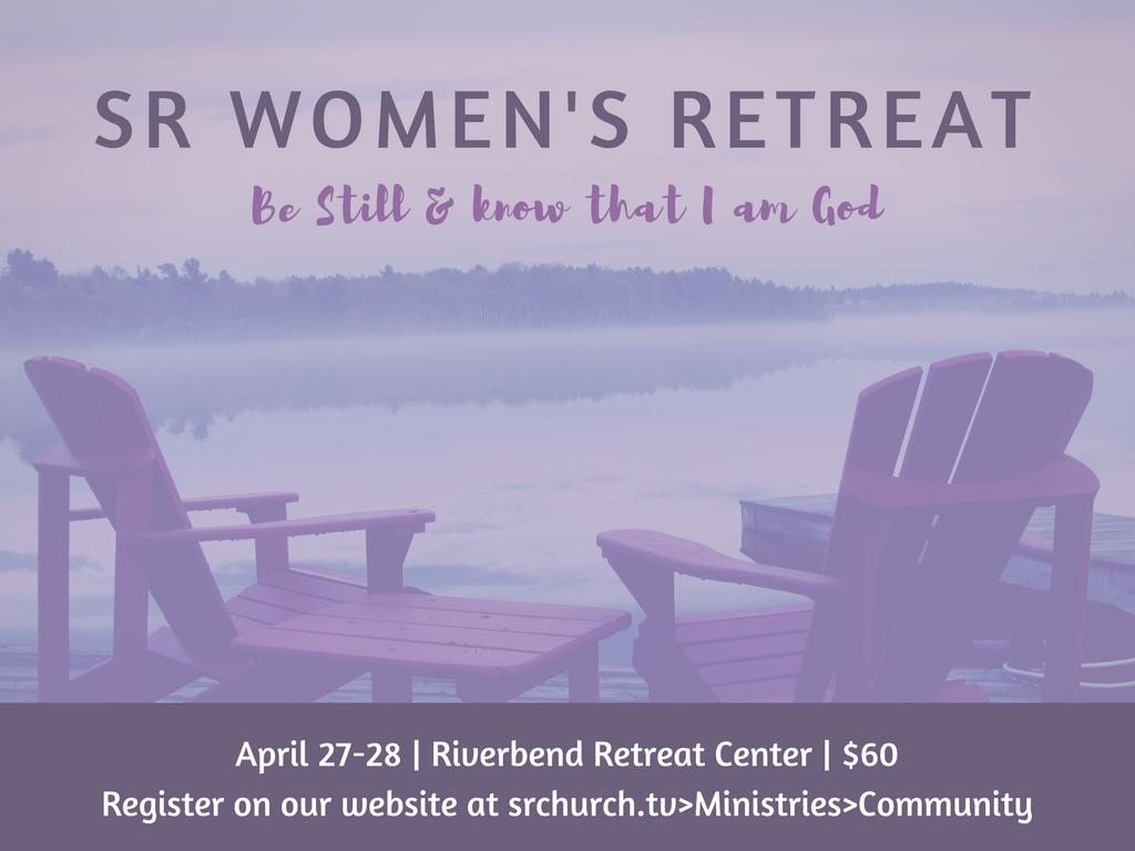 Sr women s retreat  pres