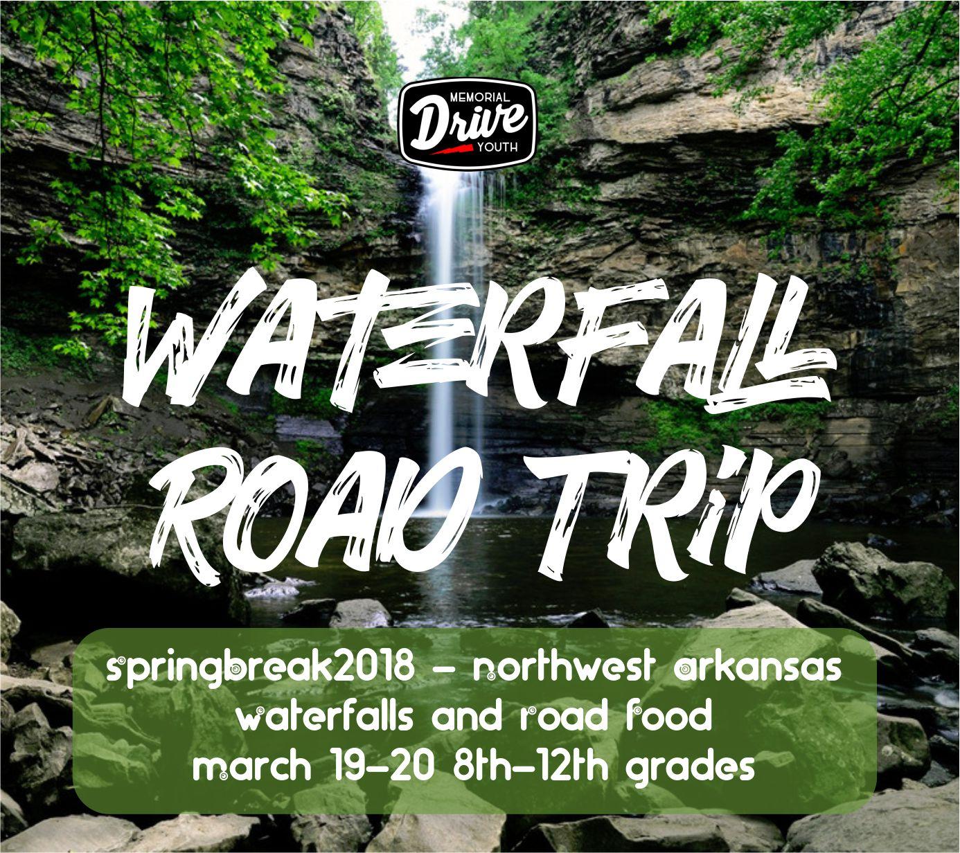 Waterfall road trip 2018