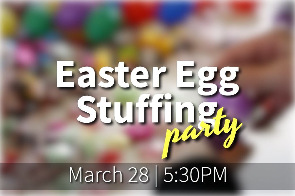 Easter egg stuffing party 2018