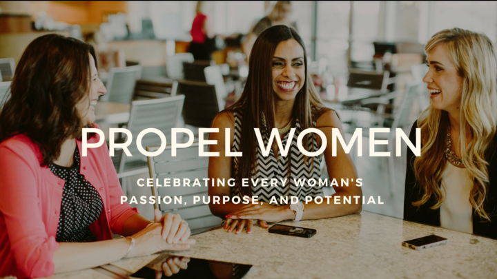 Propel Women - Leading with Passion and Purpose logo image