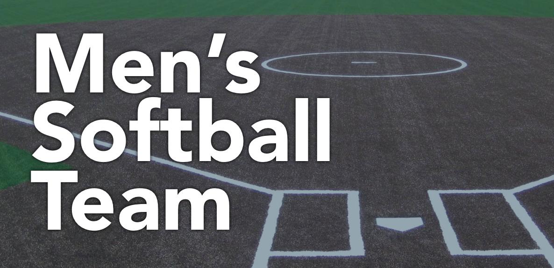 Men s softball team logo