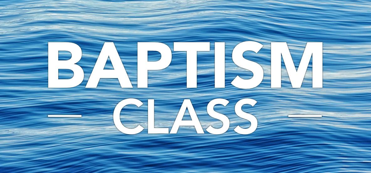 Baptism class logo