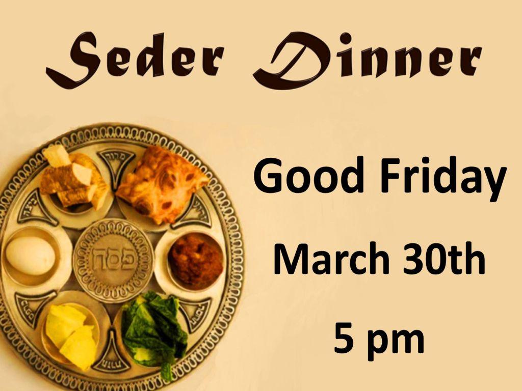 Seder dinner sign up