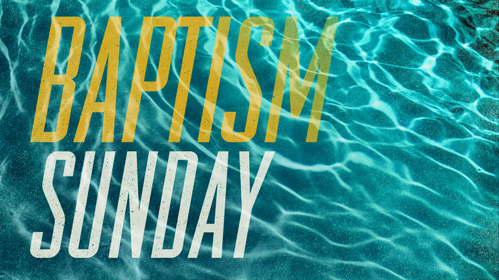 Baptism sunday pco