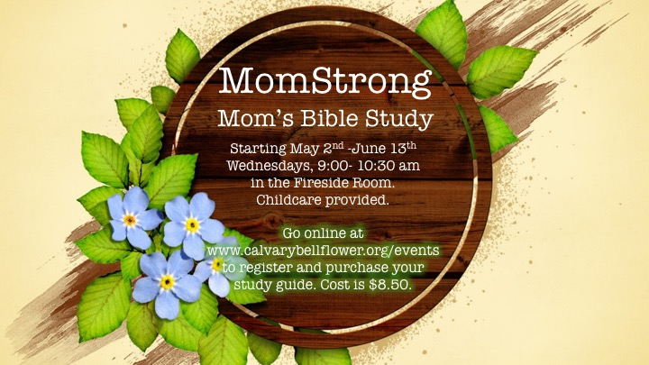 Front of momstrong flyer