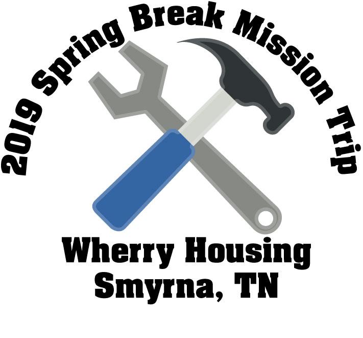 2019 spring break mission trip mc