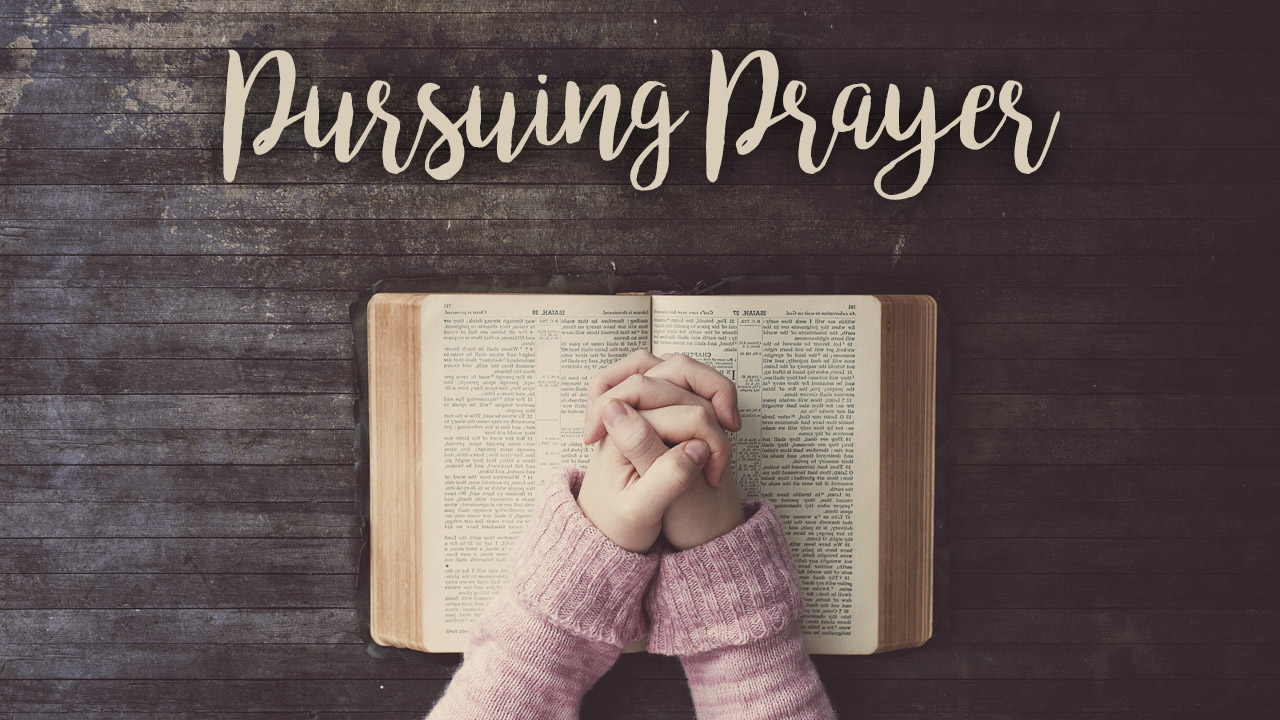 Pursuing prayer class pco