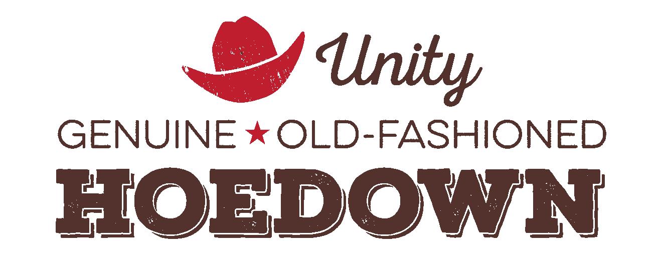 Hoedown logo for slide