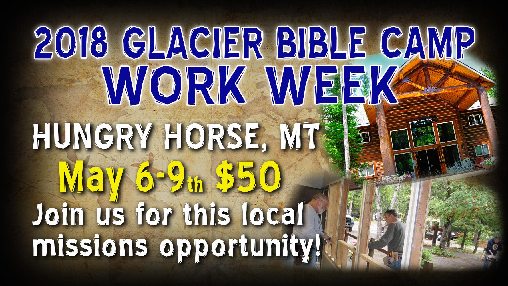 2018 glacier bc work week