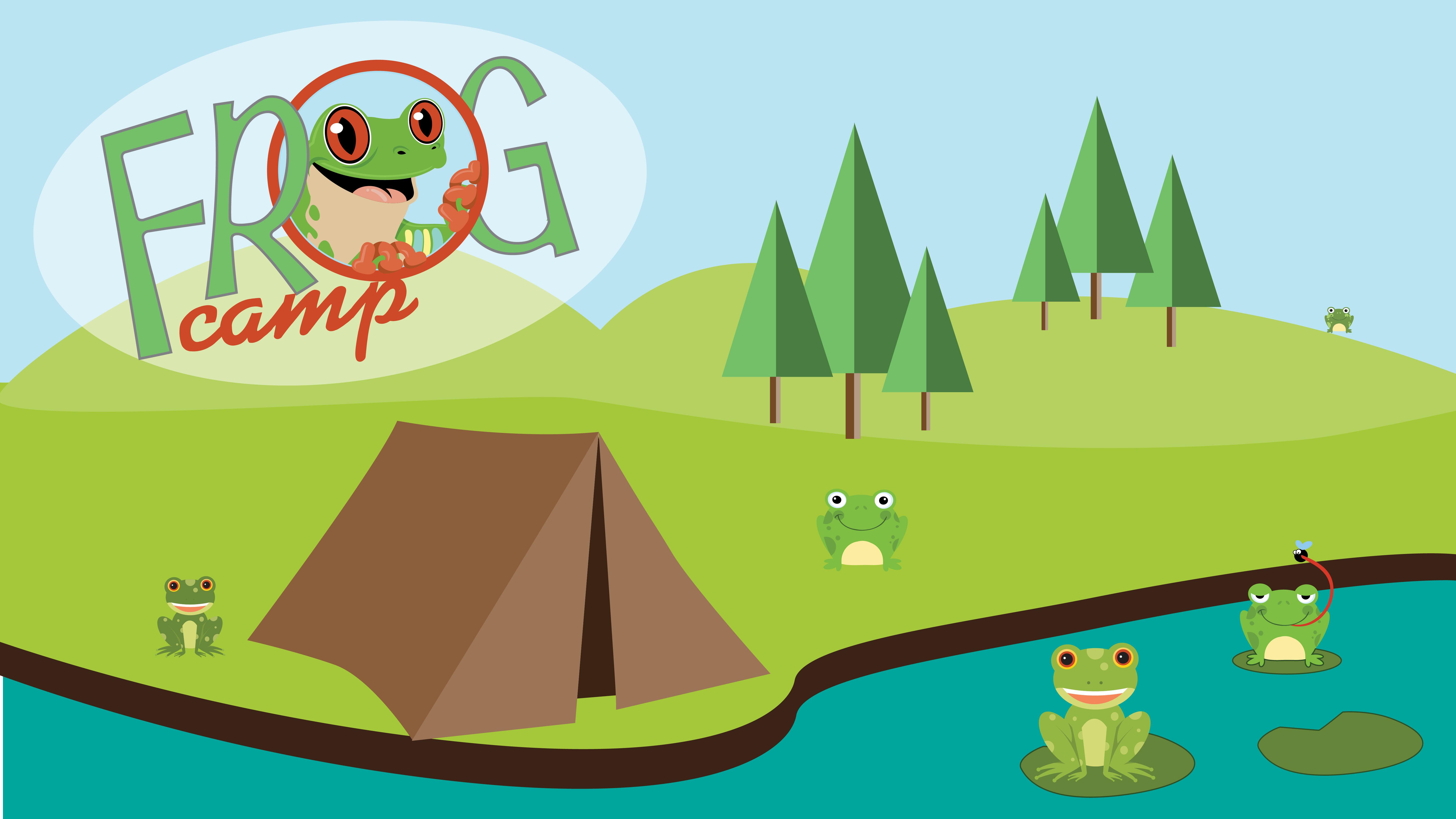 Frog camp mobile wide 01