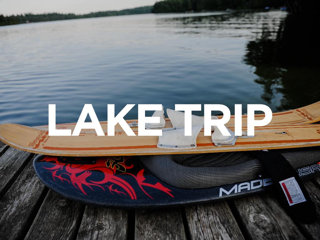 Lake trip registrations