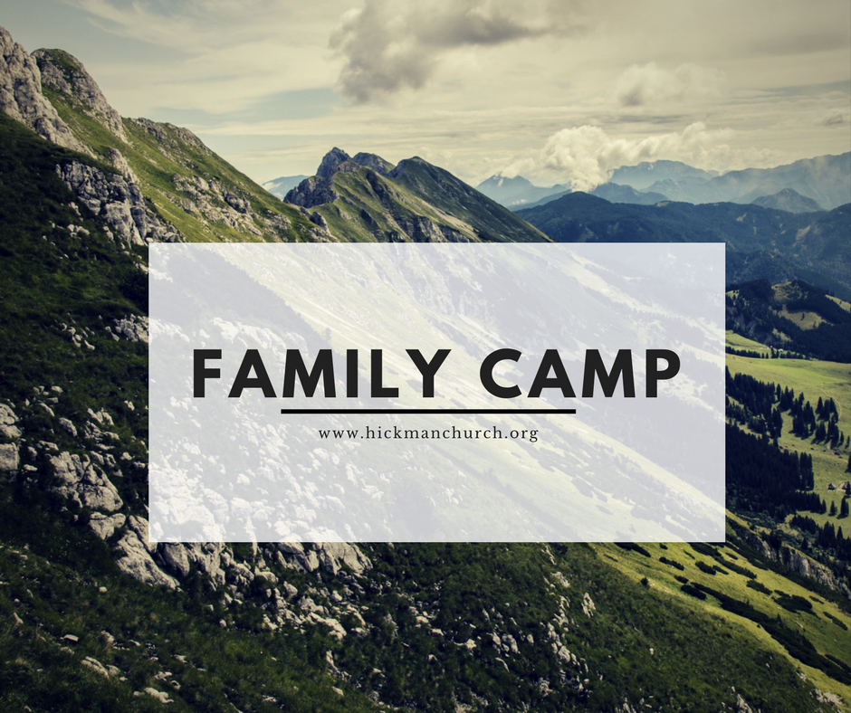2017 family camp registraion sign
