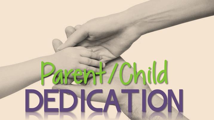 Parent child dedication plain logo