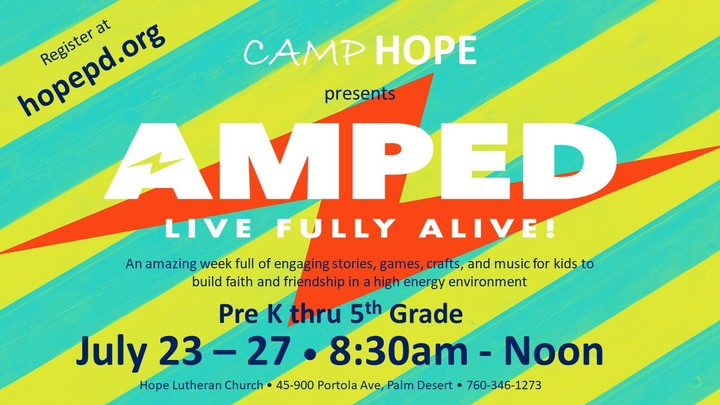 Camp Hope 2018 logo image