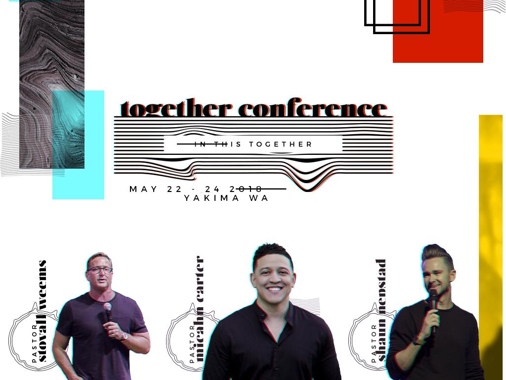 Together conference registration graphic