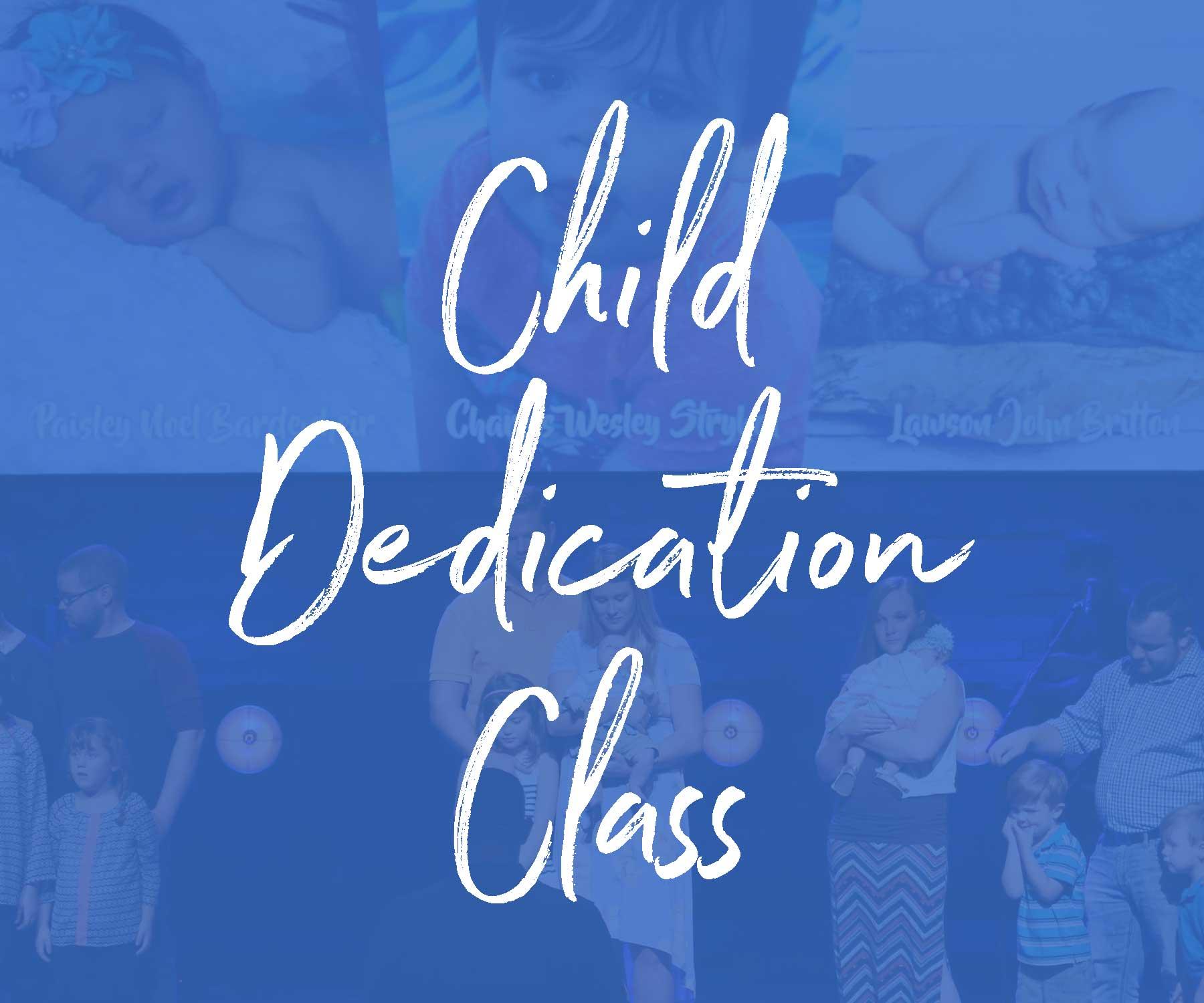 Child dedication class 2