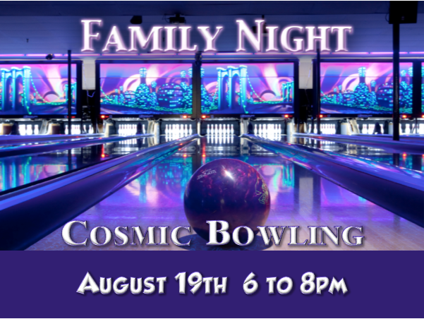 Family bowling august 2018