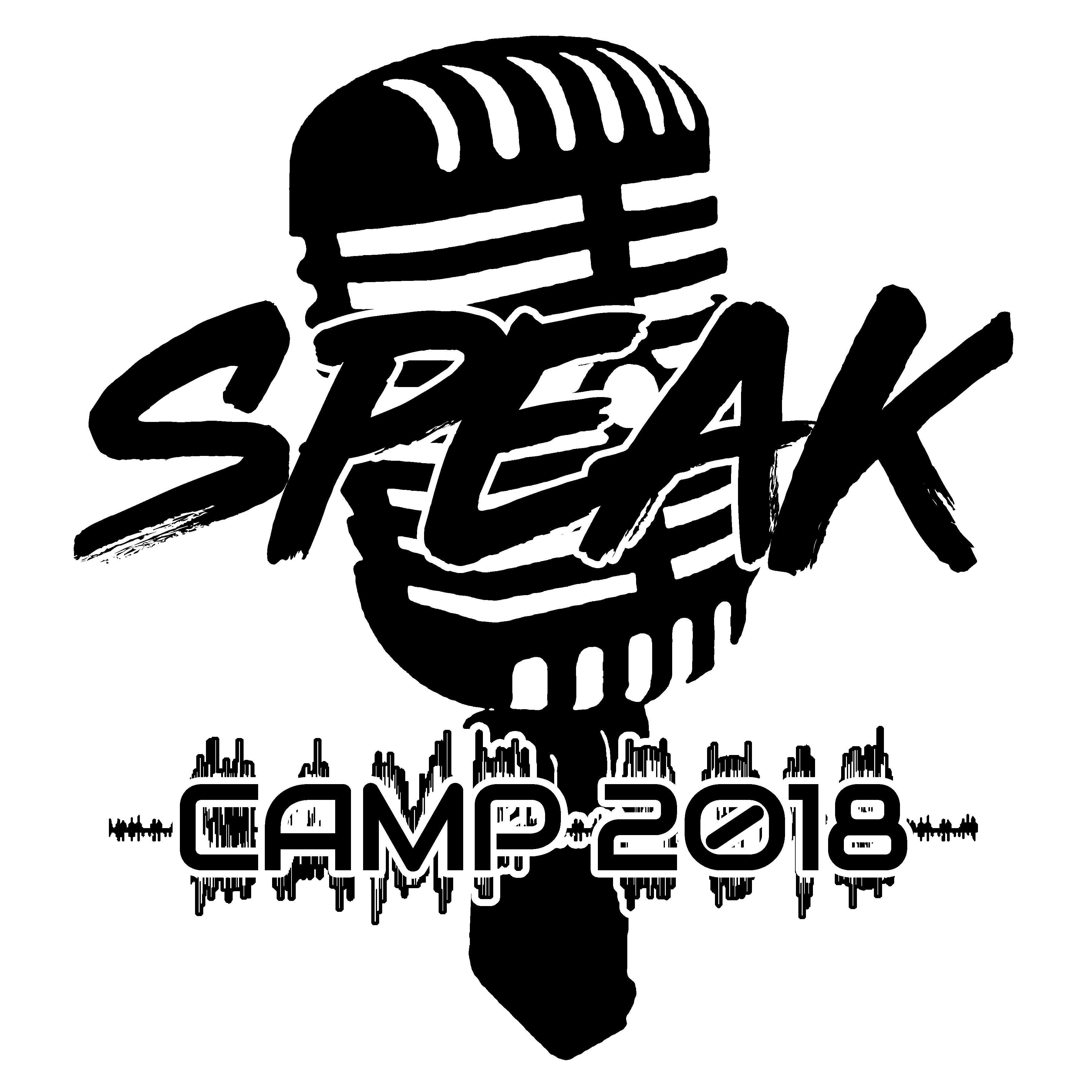 Speak logo black