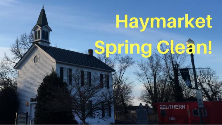 Haymarket Spring Clean logo image