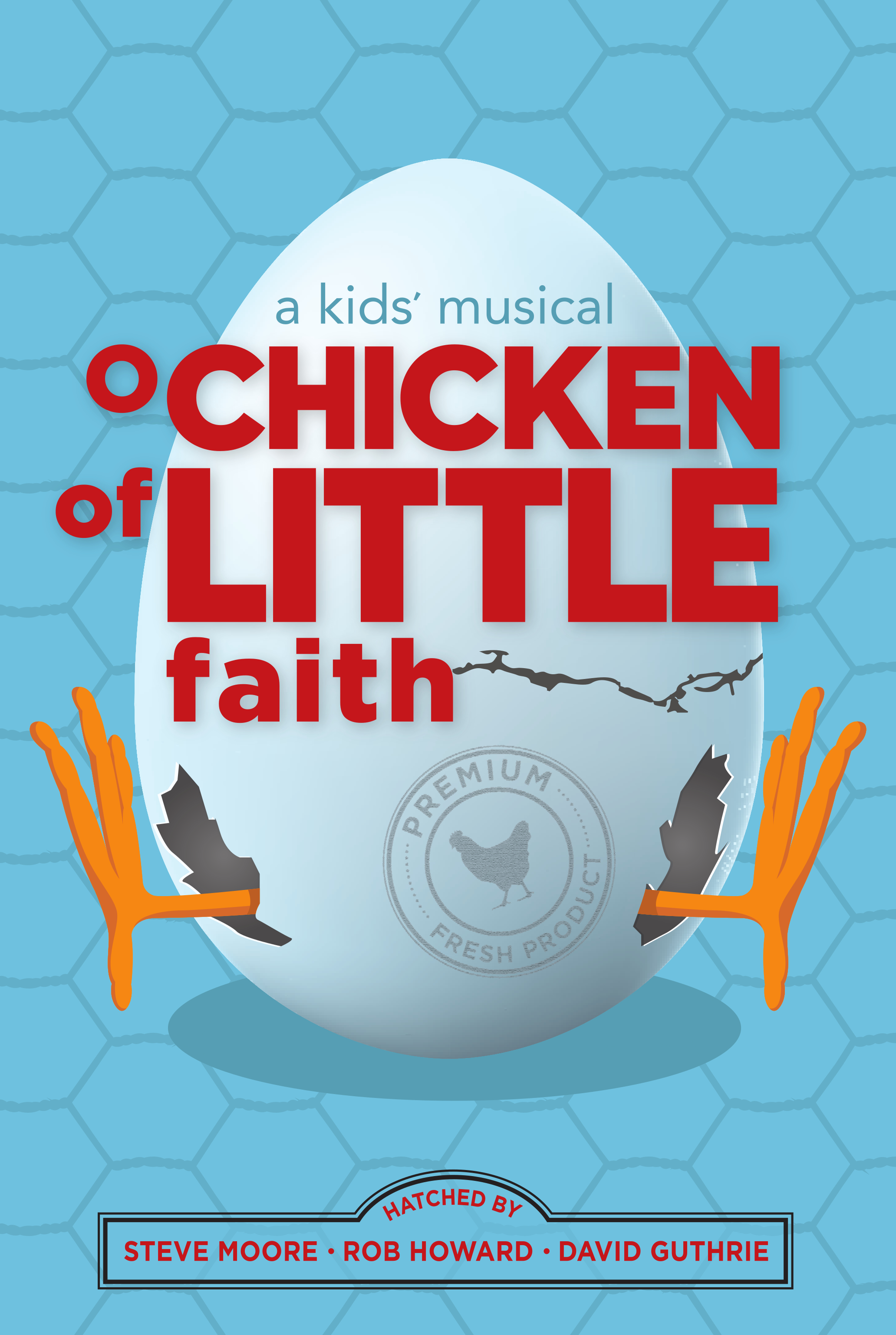 O chicken of little faith choral book cover
