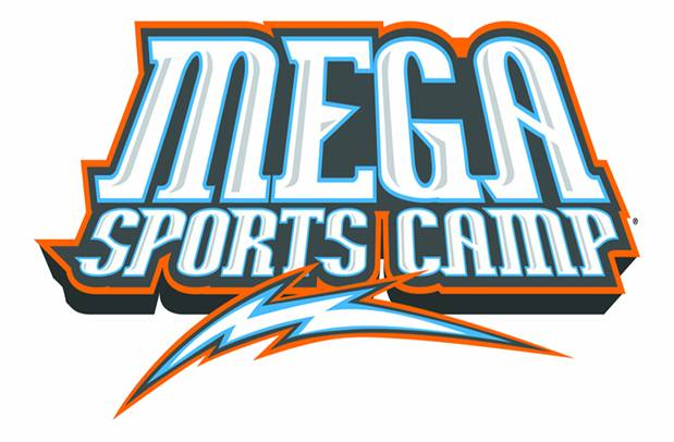 Mega sports camp logo