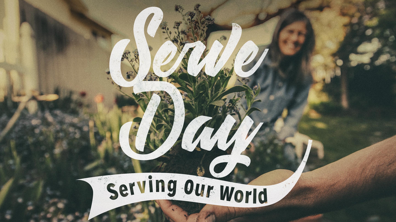 Serve day main graphic