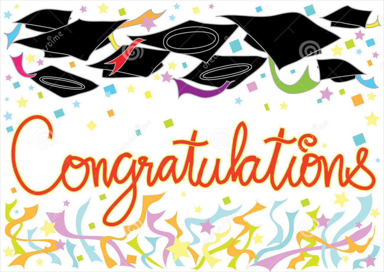 Graduation congratulation card