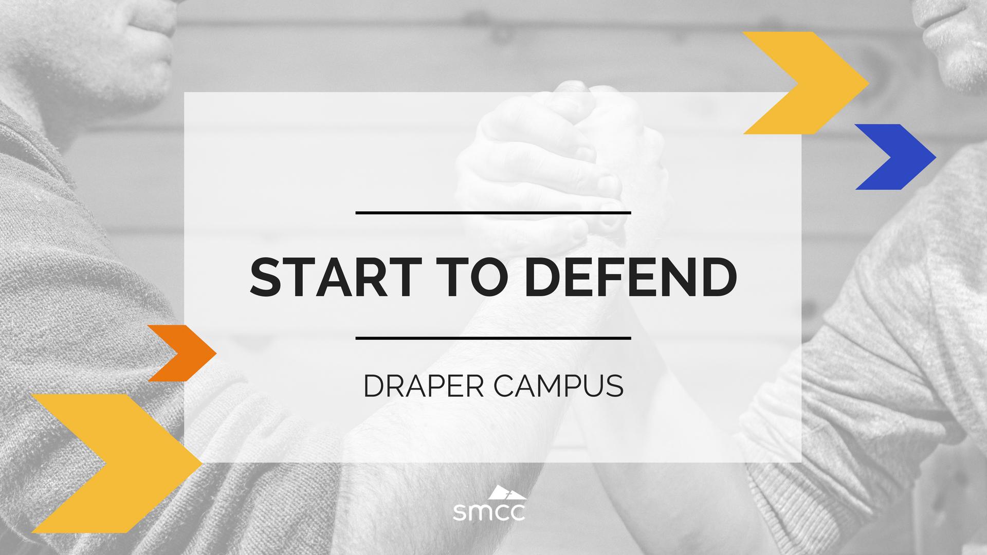 Start to defend presentation