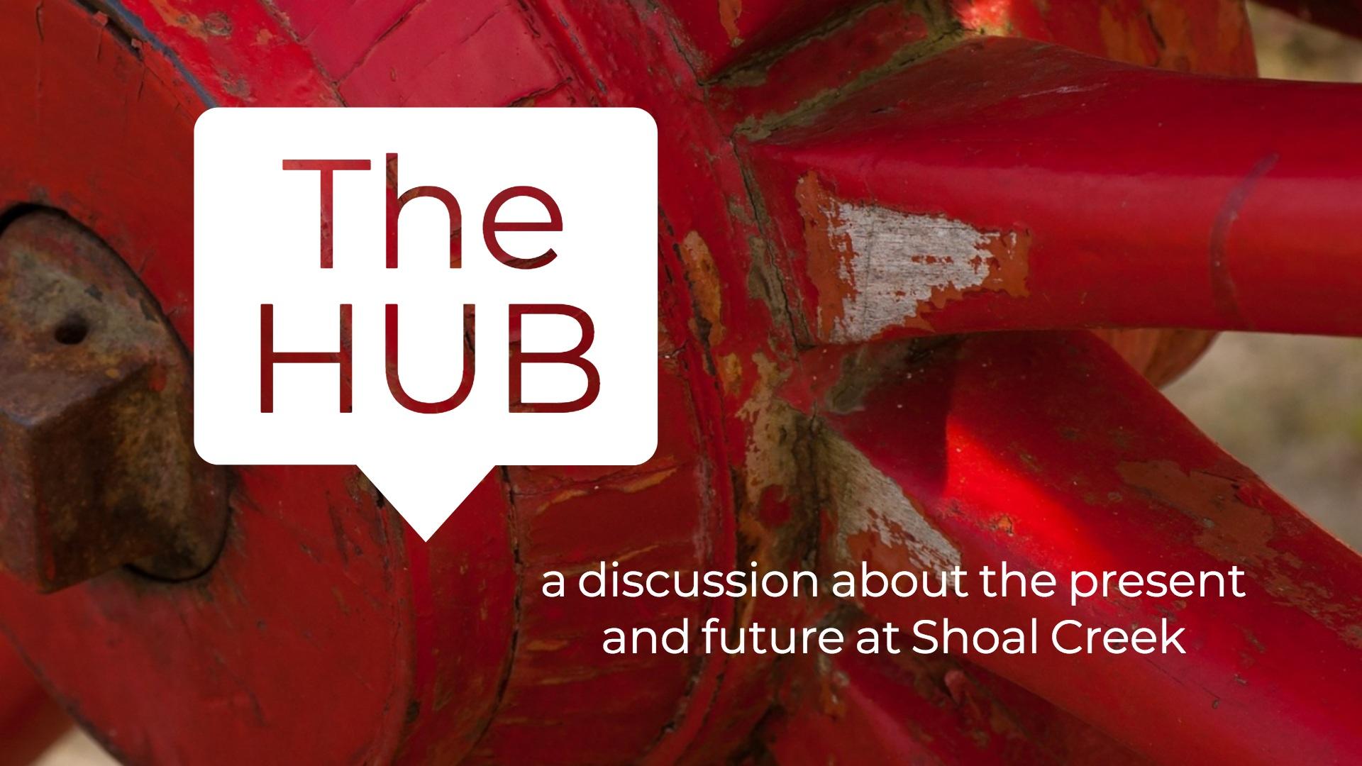 The hub with tagline
