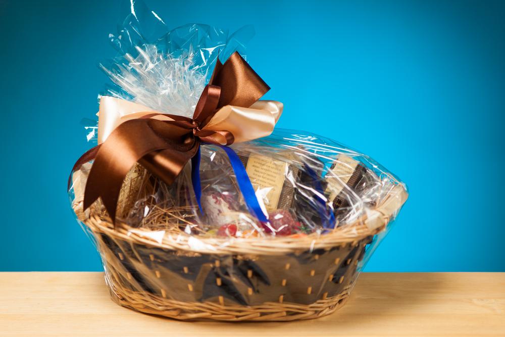 Gift basket shutterstock 135053087