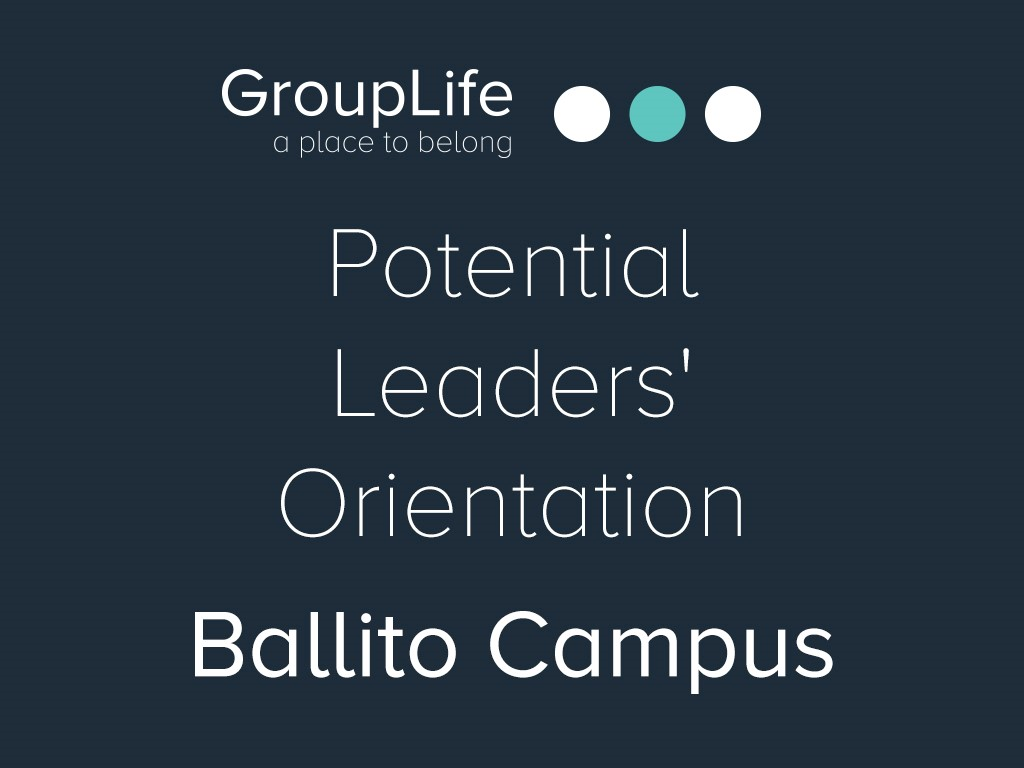 Ballito potential leaders  orientation