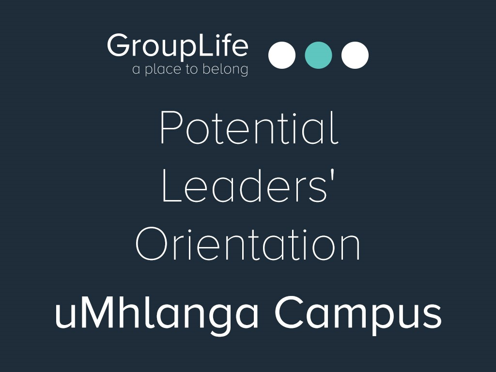 Umhlanga potential leaders  orientation