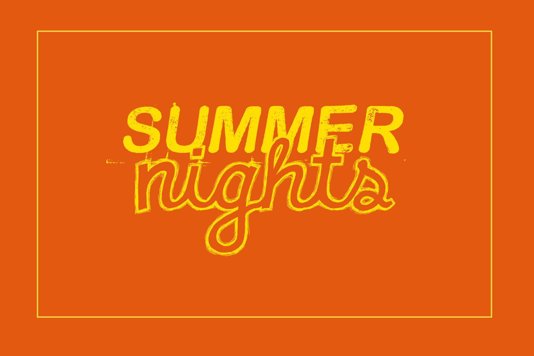 Summer nights front