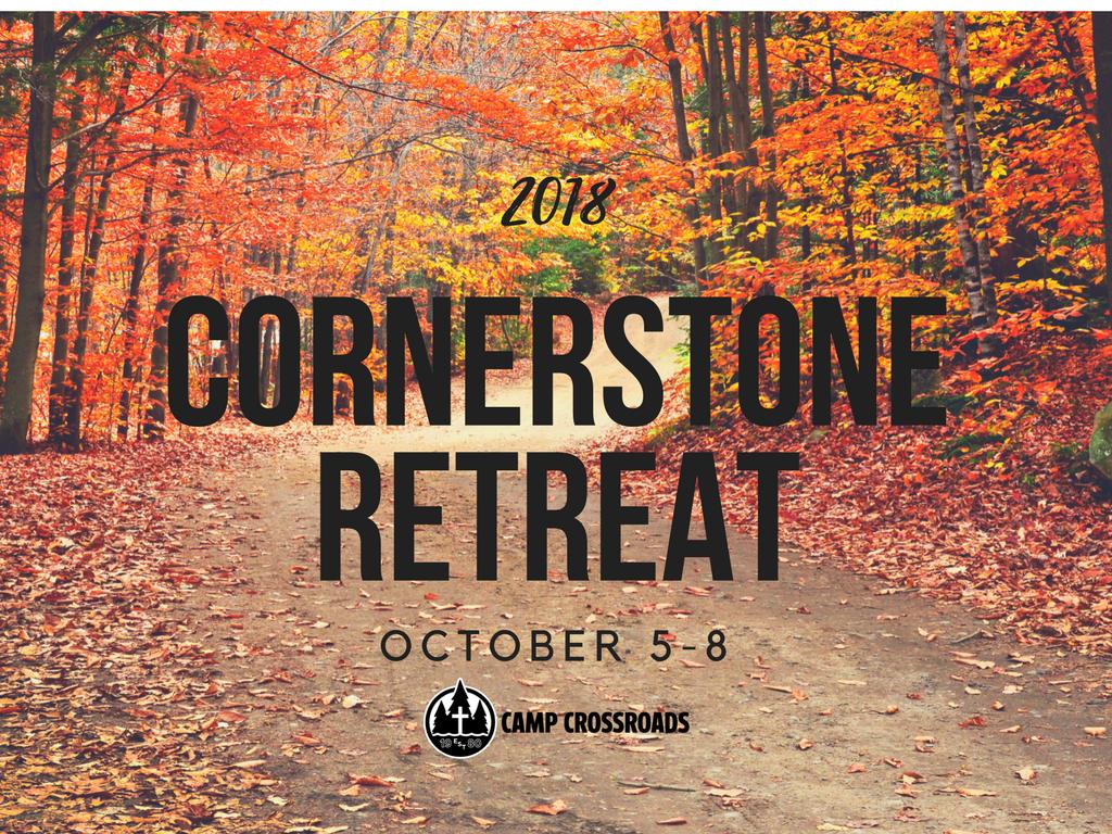 Cornerstone retreat 2018 registration logo image