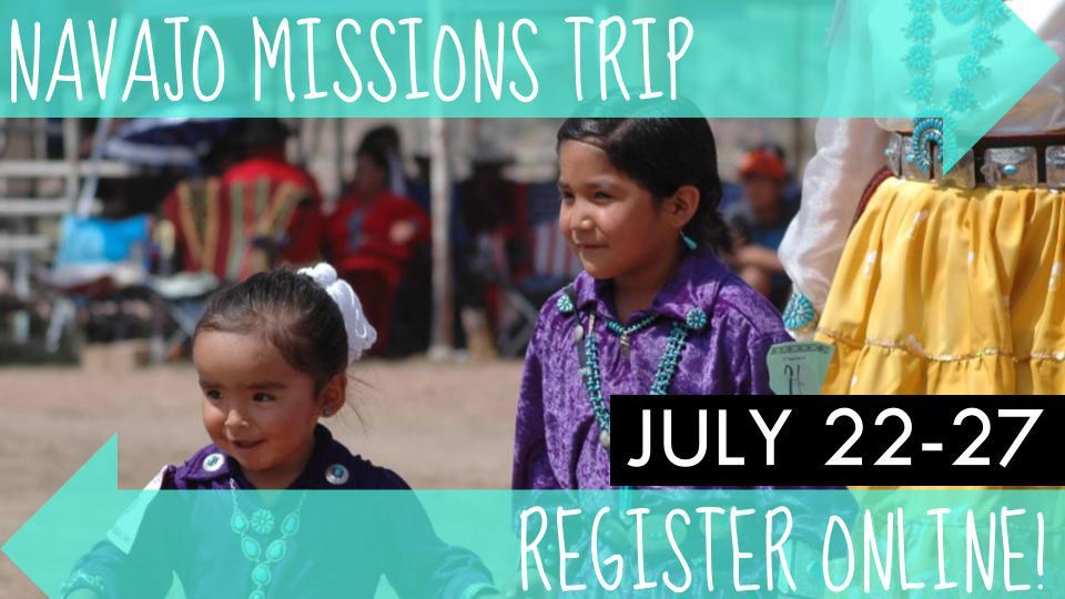 Navajo mission trip slide