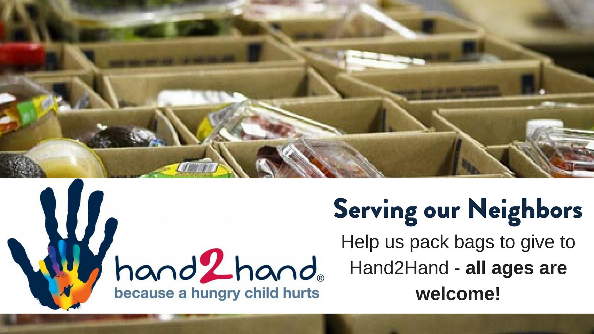 Hand2hand packing
