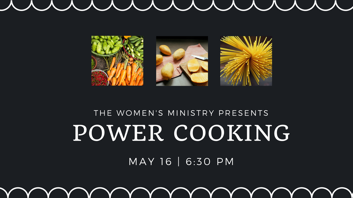 Power cooking registration