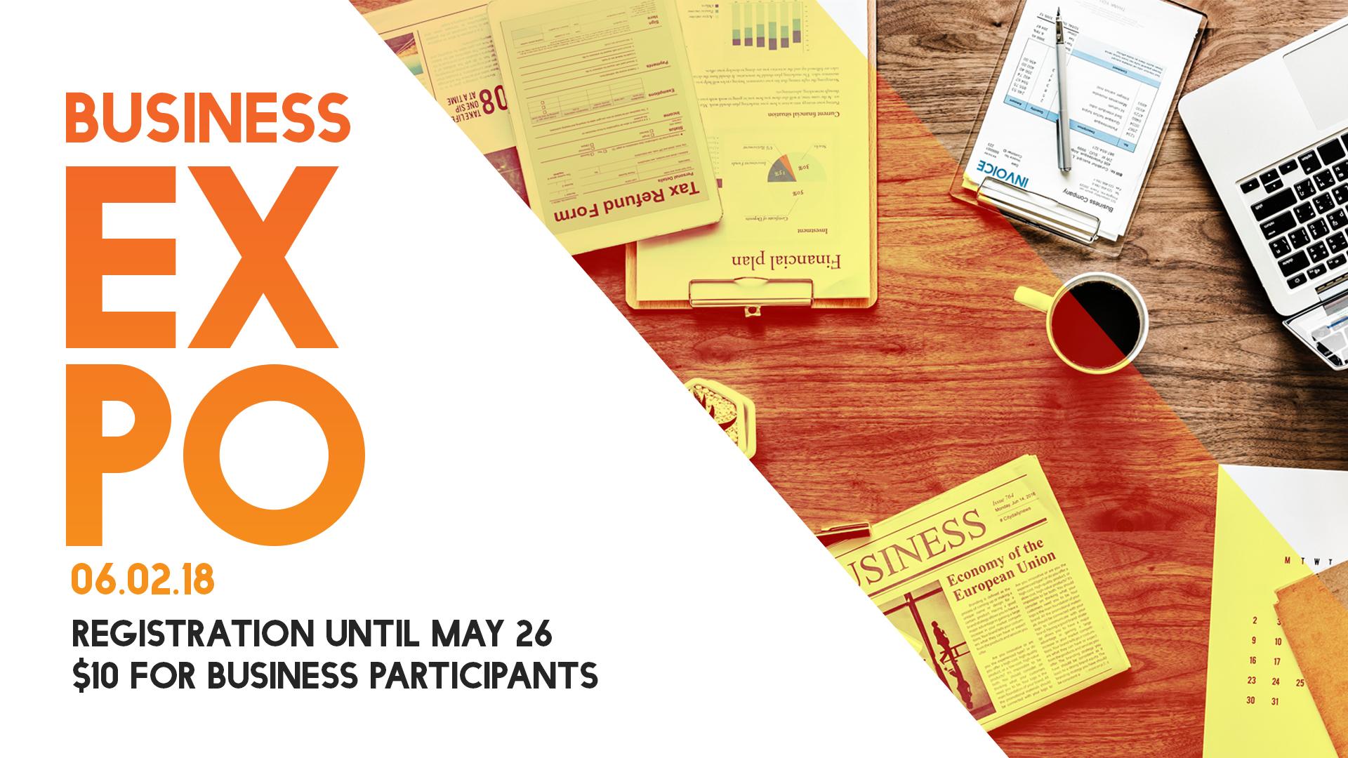 Business expo   june 2018   info slide