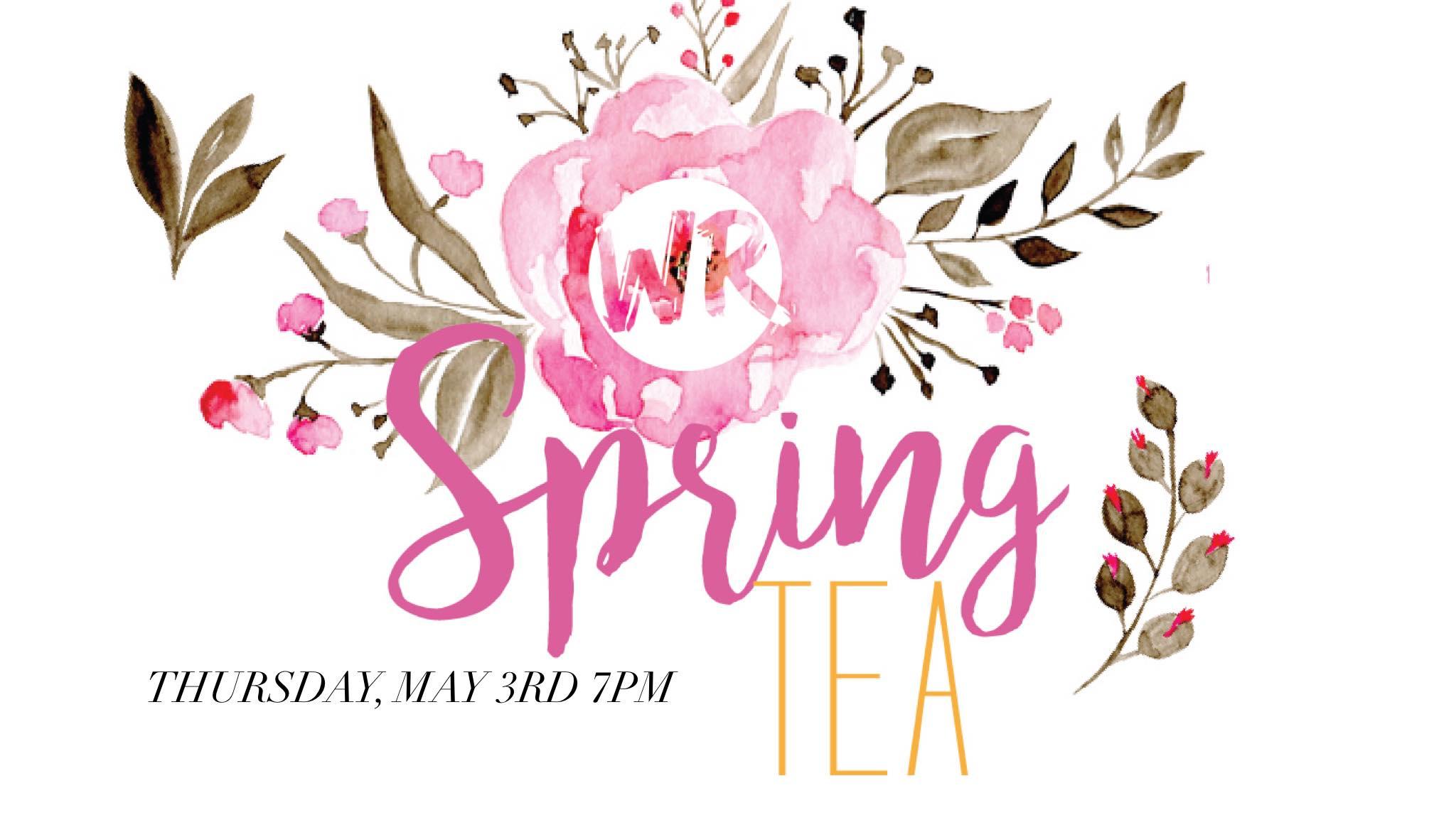 Spring tea graphics