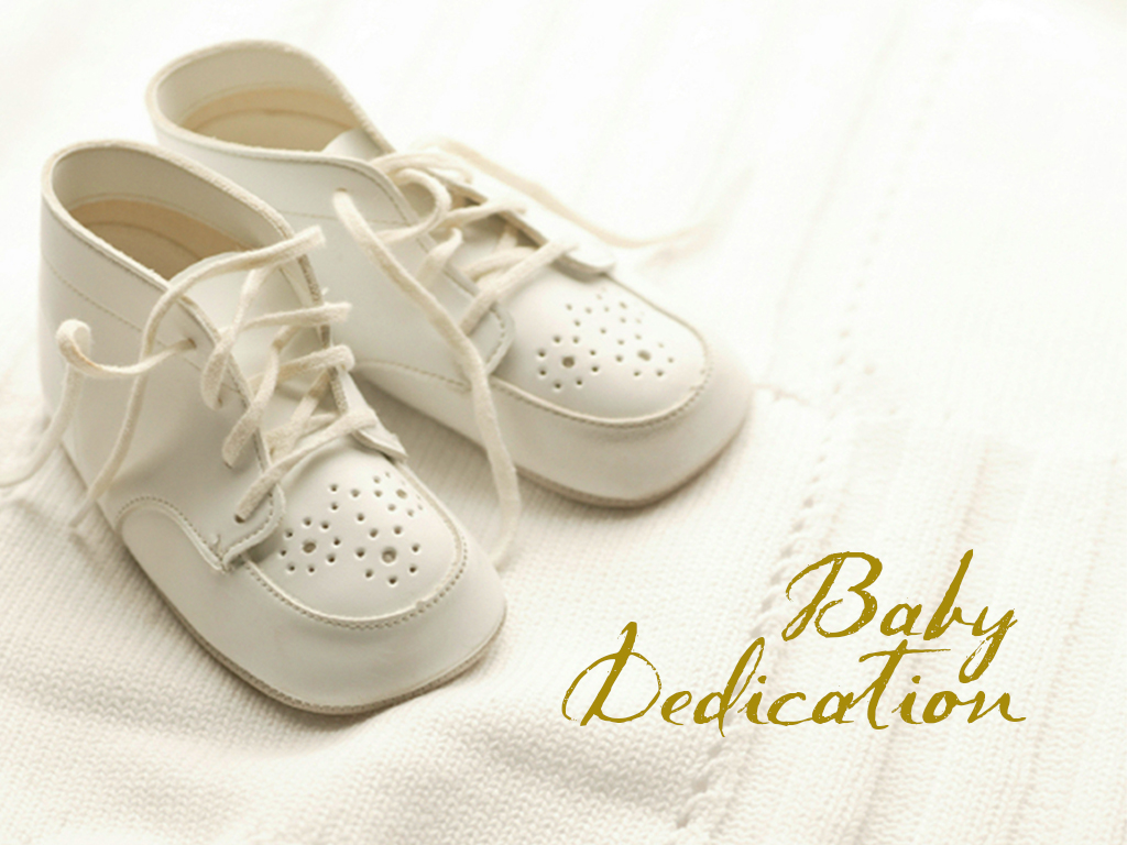 Baby dedication registry