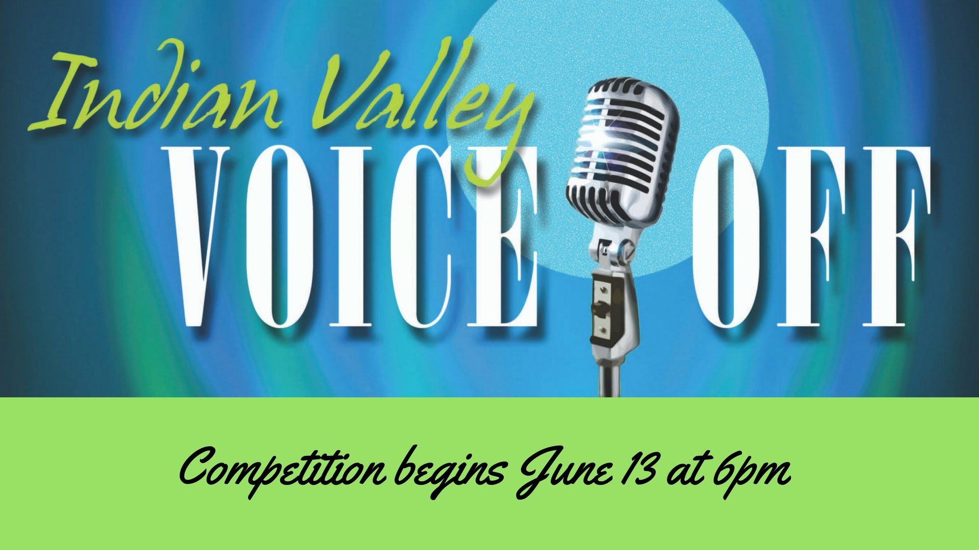 Voice off competition begins a