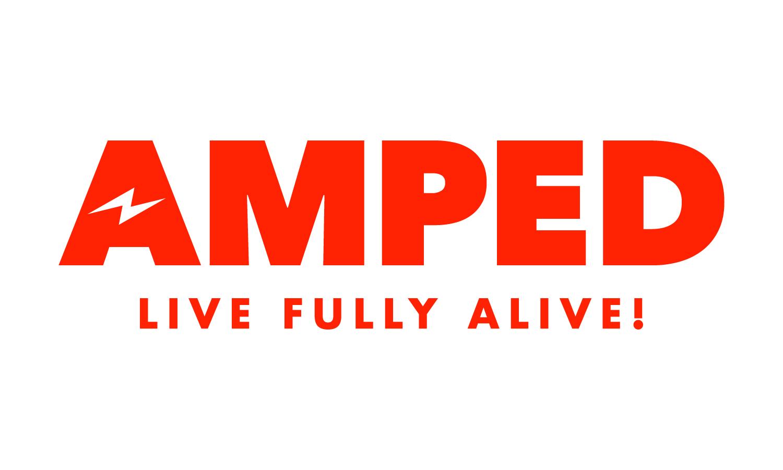 Amped full logo red cmyk