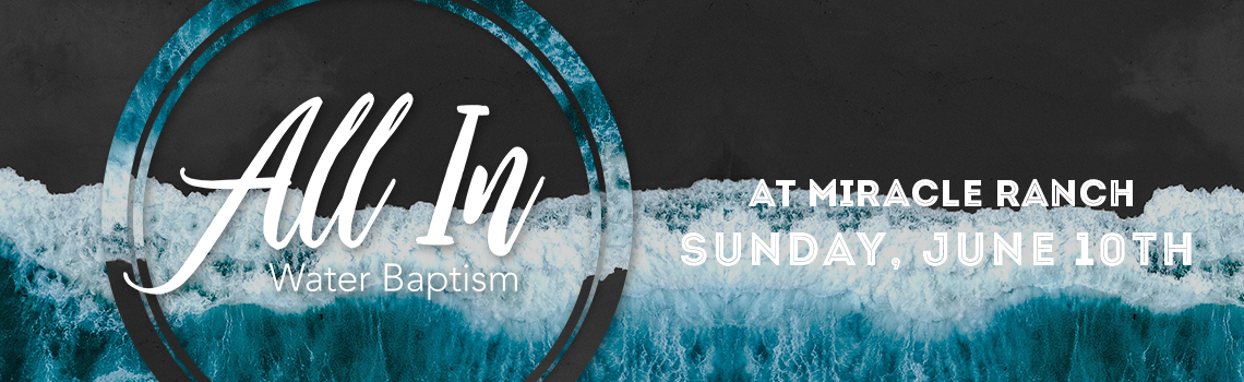 All in baptism event listing