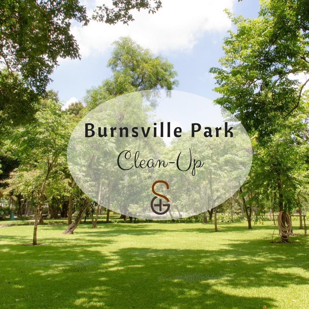 2018 burnsville park clean up  square