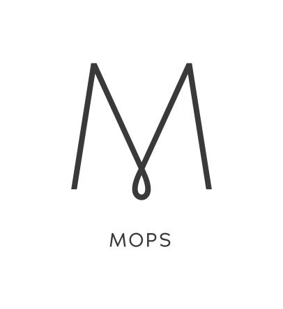 M logo wordmark