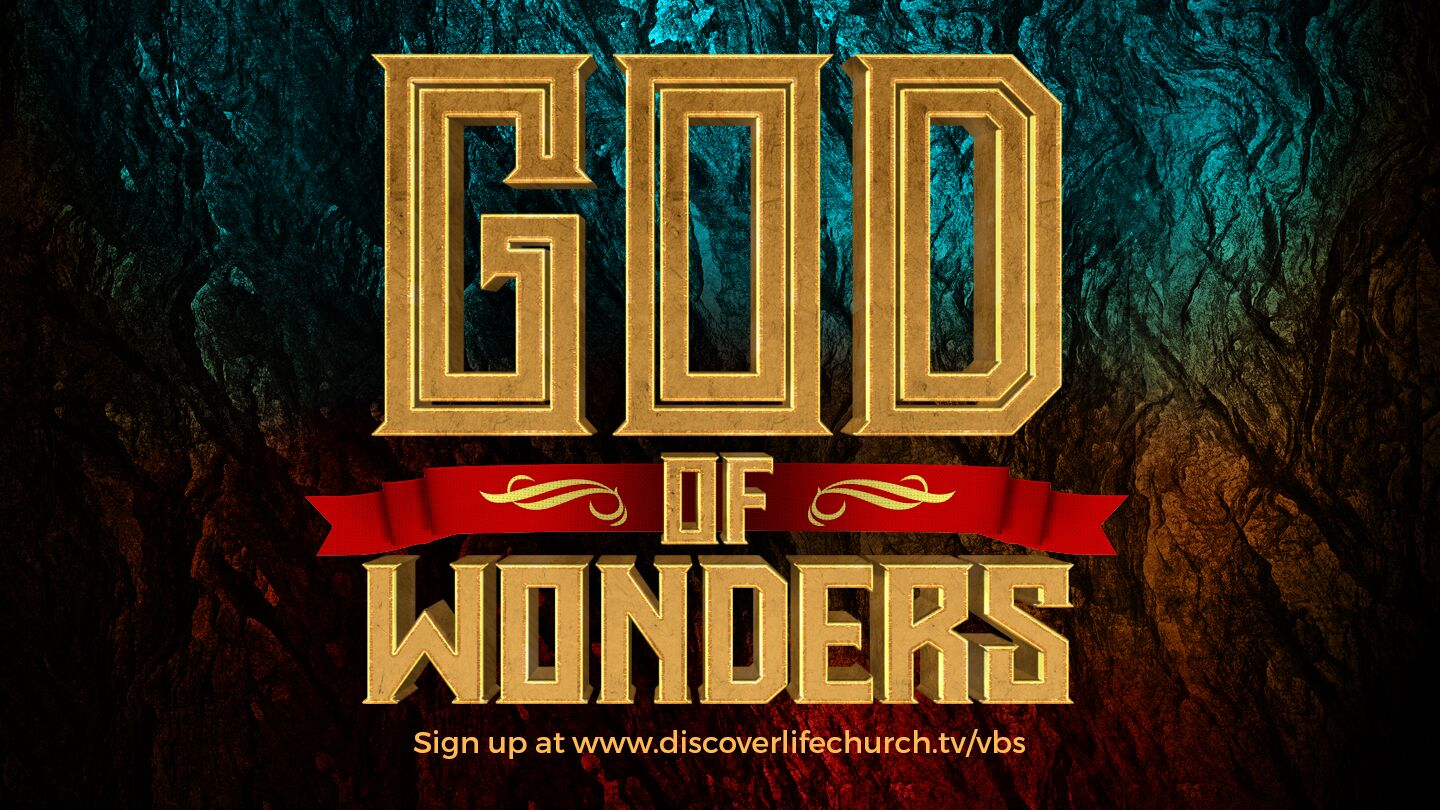God of wonders promo slide preview